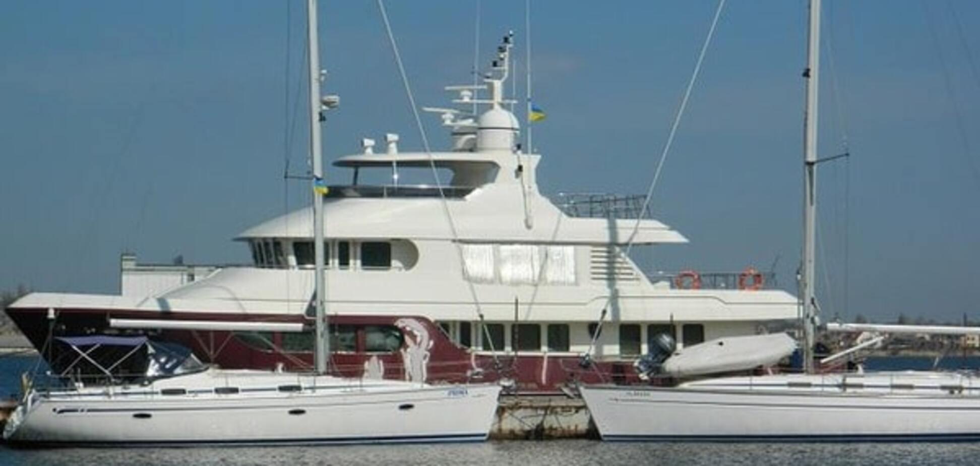 Шикарна яхта Януковича знайшлася в Туреччині: опубліковано відео