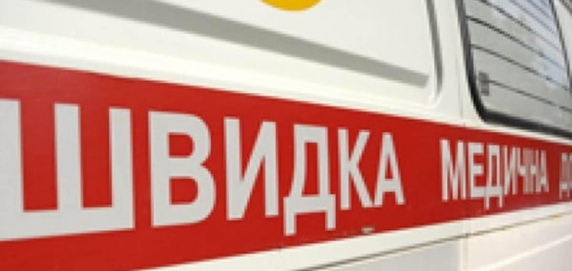 В Киеве автомобиль сбил беременную