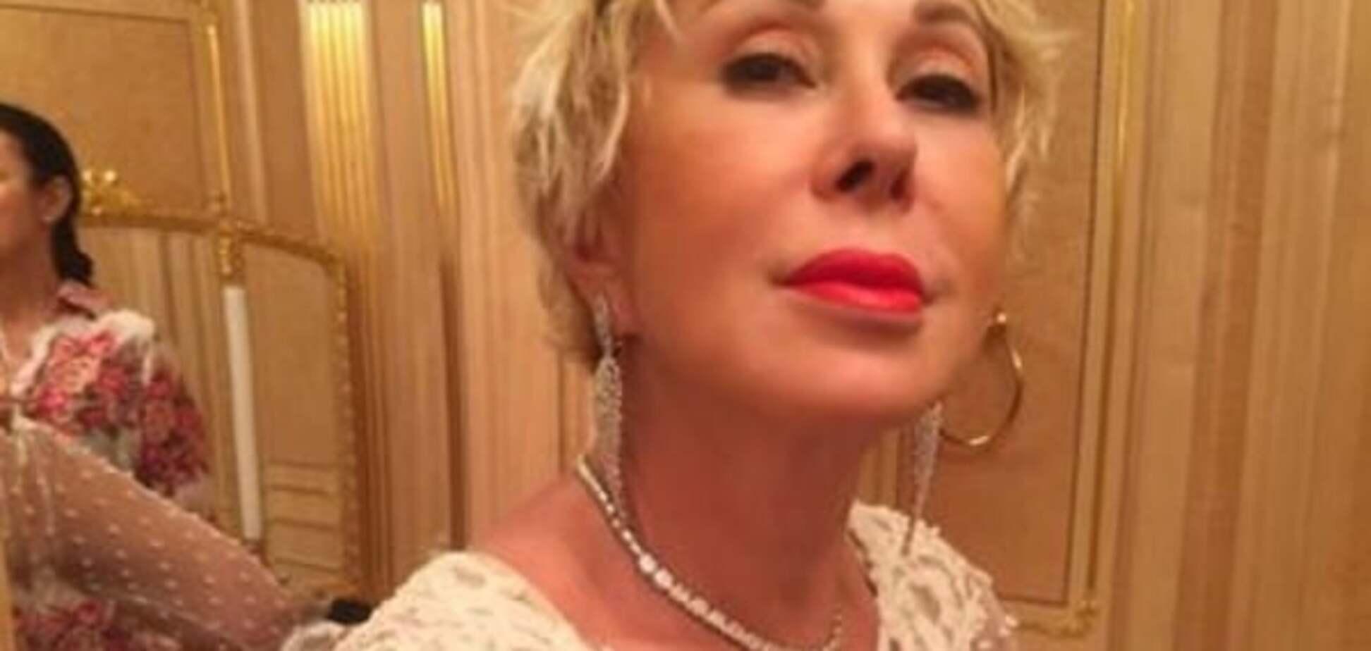 61-летняя Успенская вывела в свет нового друга