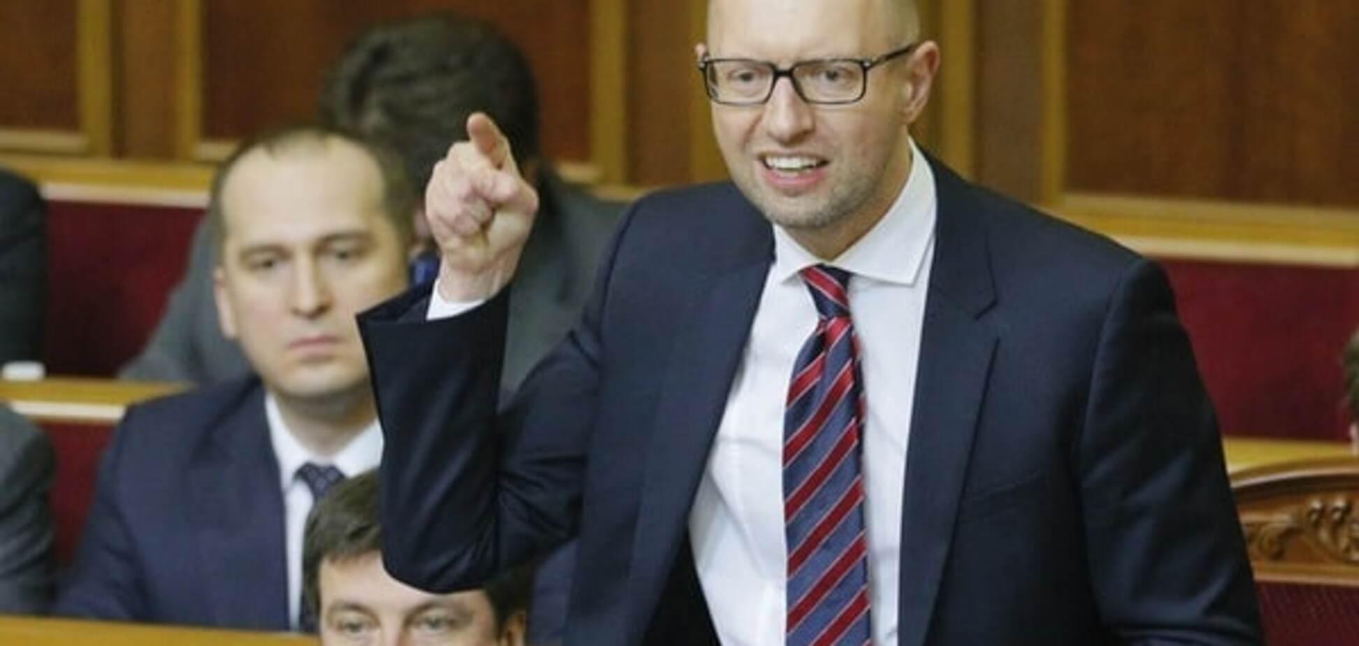 Яценюк закликав переформатувати коаліцію і Кабмін