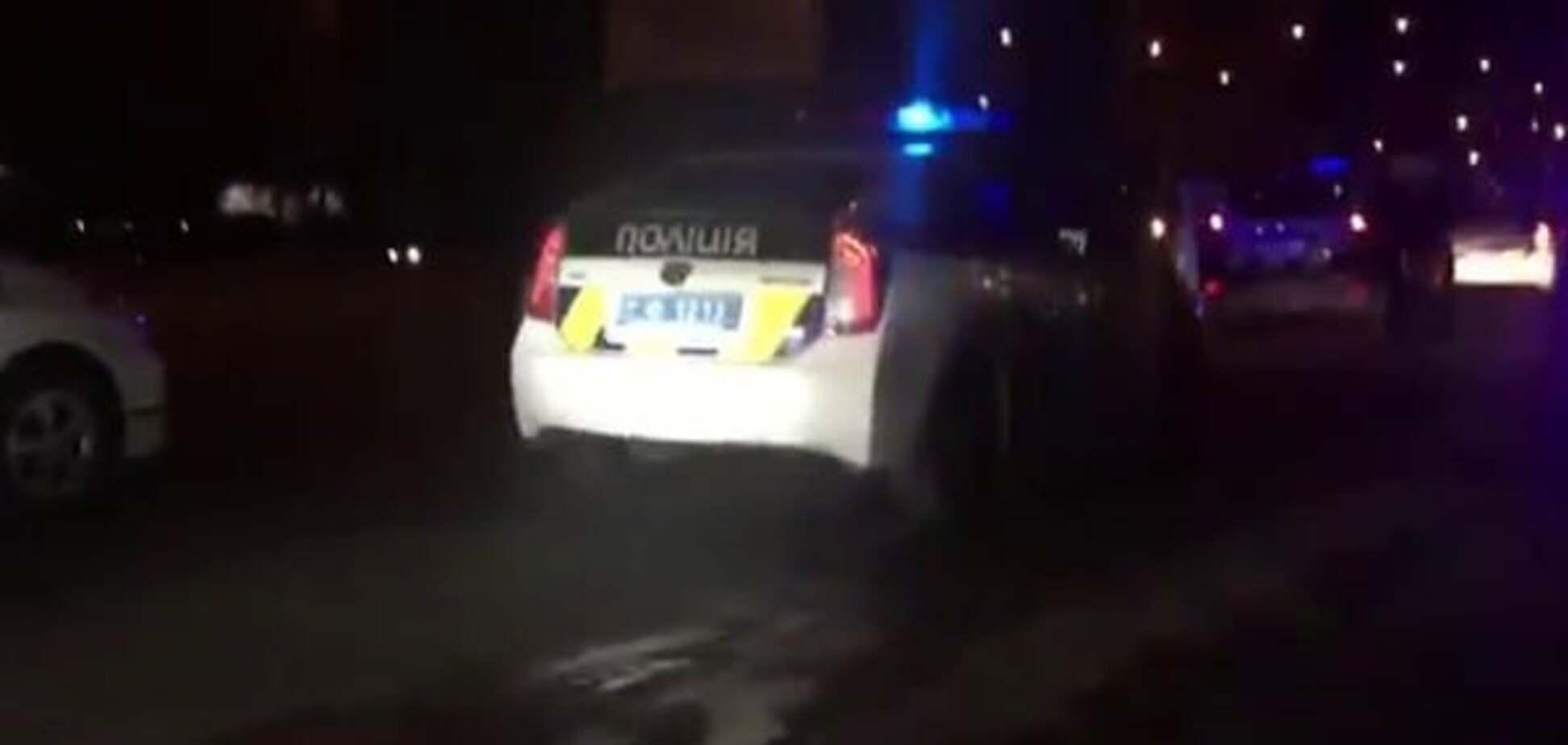 Опубликовано новое видео смертельной погони со стрельбой за BMW в Киеве