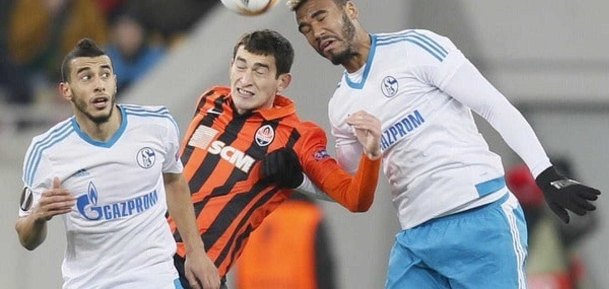 Німецькі футболісти не змогли забити 'Шахтарю' після незвичайного удару: відео моменту