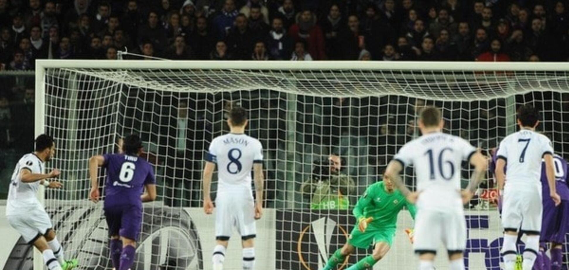 Фантастический гол футболиста 'Фиорентины' спас ничью в битве Лиги Европы