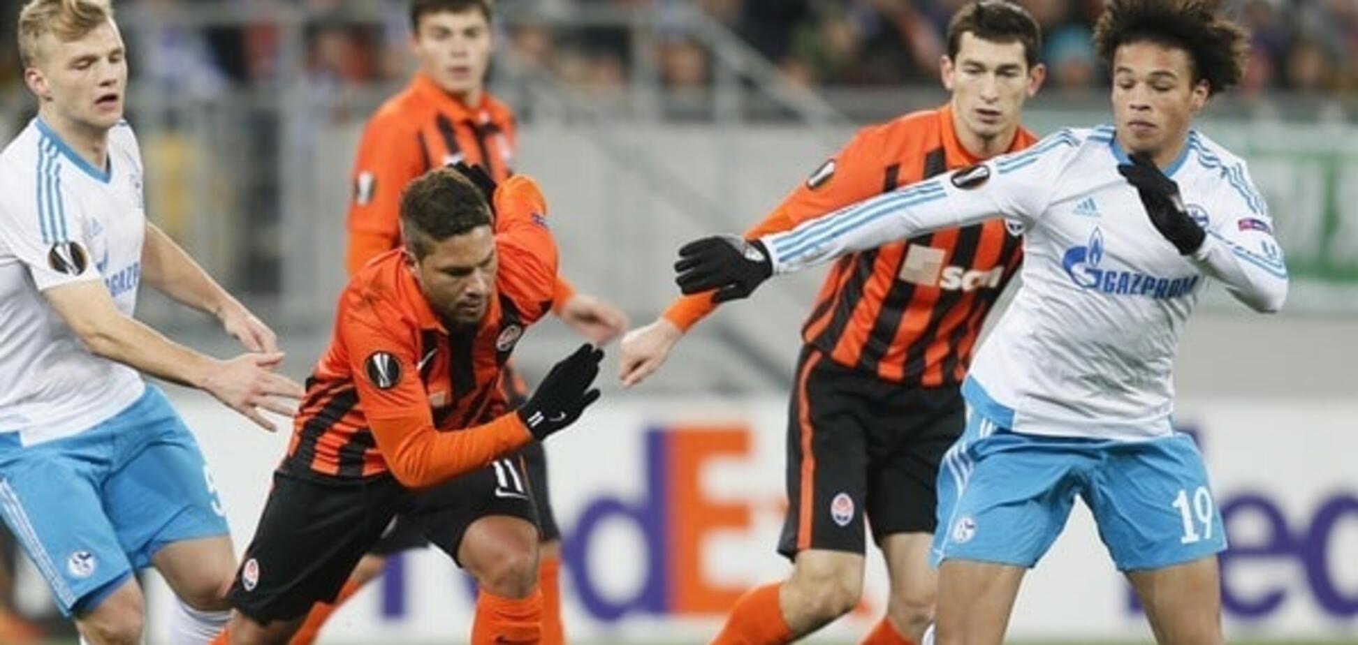 'Шахтар' зіграв внічию з 'Шальке' в 1/16 фіналу Ліги Європи