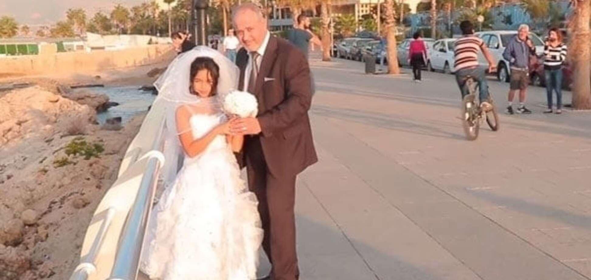Шокирующее видео 12-летней невесты