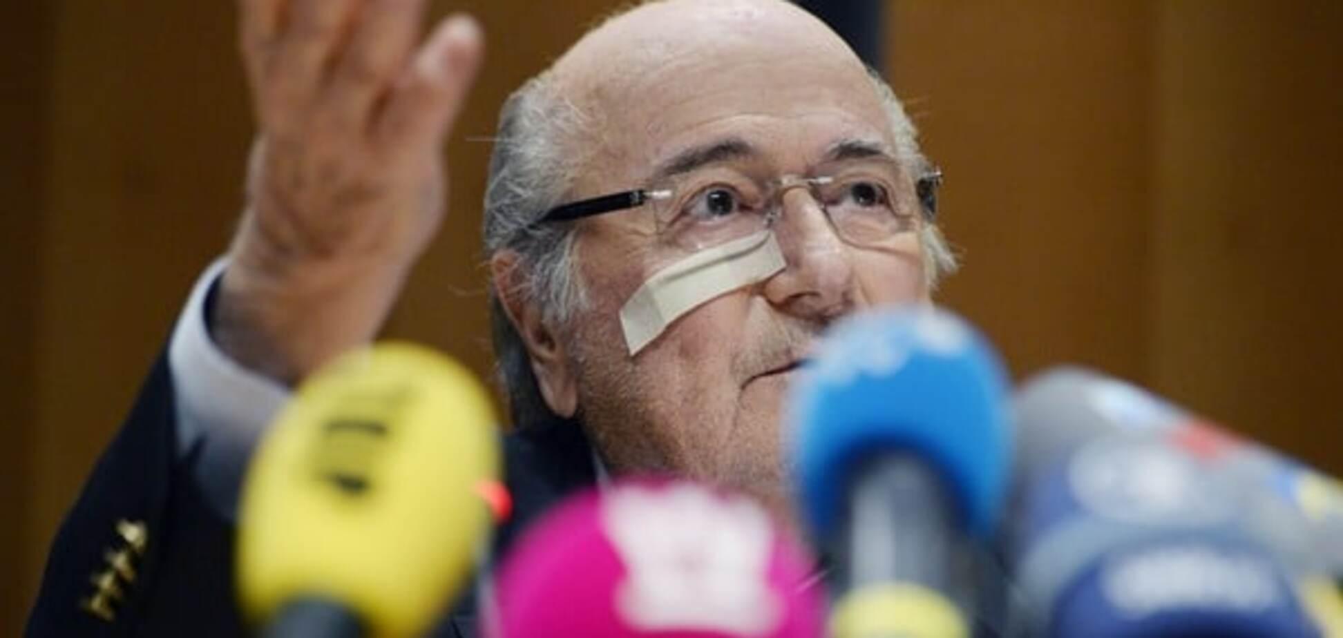 'Зробили крайнім': Блаттер поскаржився на тиск у корупційному скандалі ФІФА