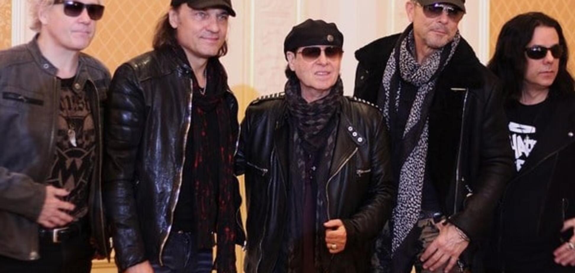 Scorpions в Киеве рассказали, как украинские фаны растрогали их до слез