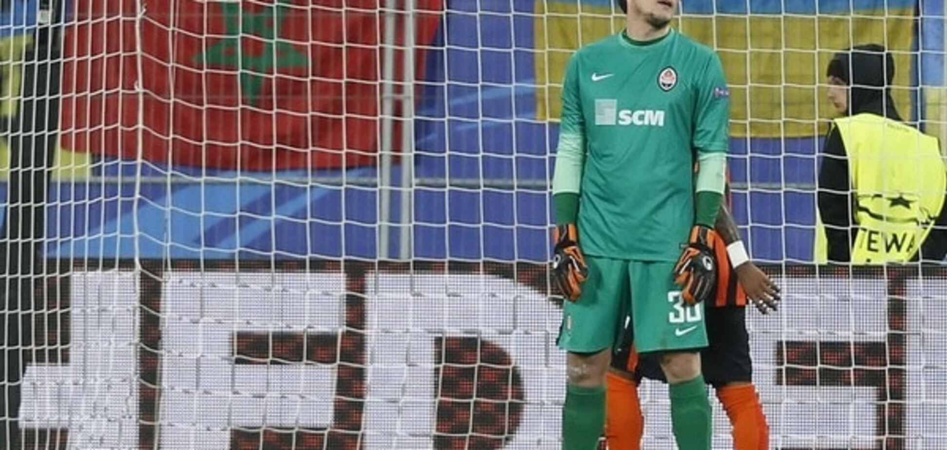 'Кращий гравець': воротар збірної України вразив німецькі ЗМІ