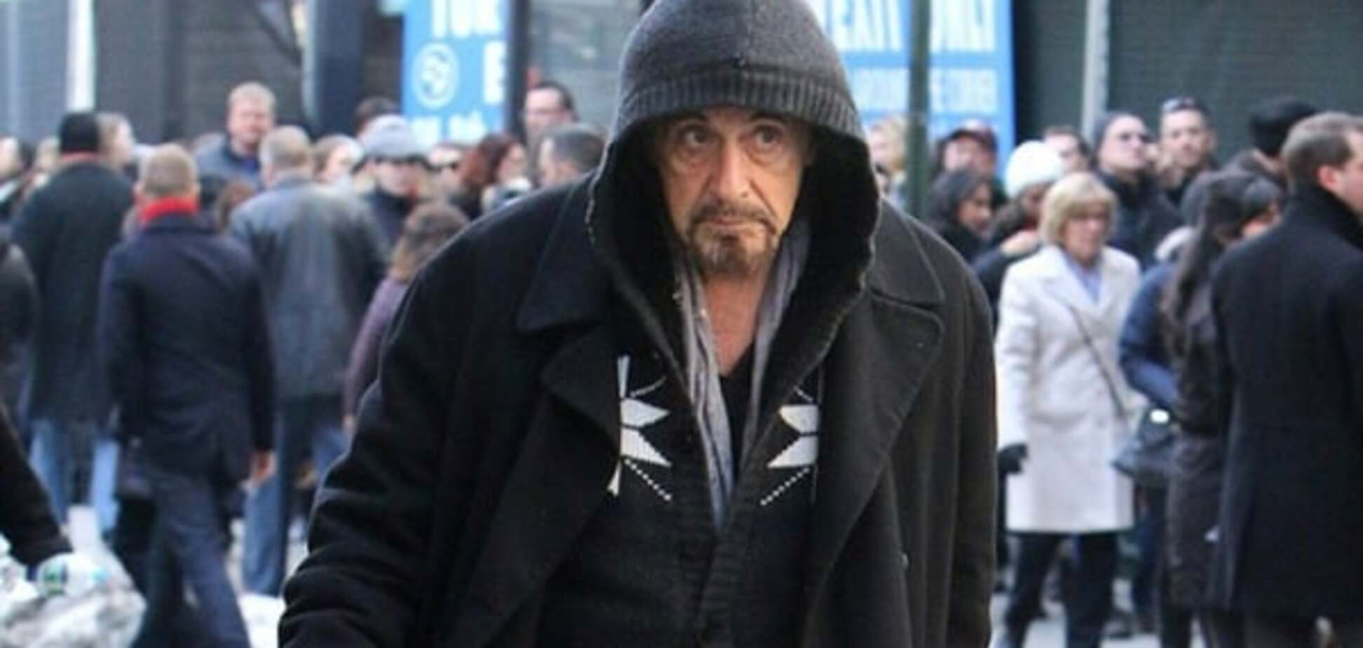 Бомжи Америки: 75-летнего Аль Пачино приняли за бездомного