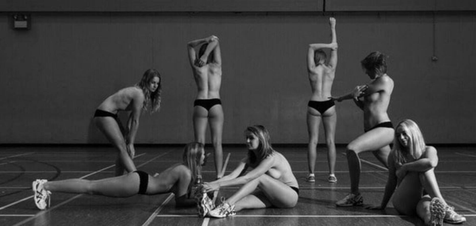 Юные английские спортсменки снялись обнаженными, ради благородной цели: откровенные фото