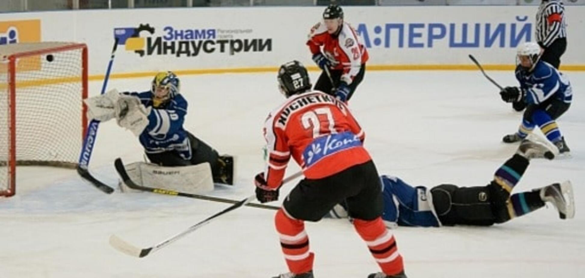 ХК 'Донбасс' устроил феерическое зрелище в чемпионате Украины