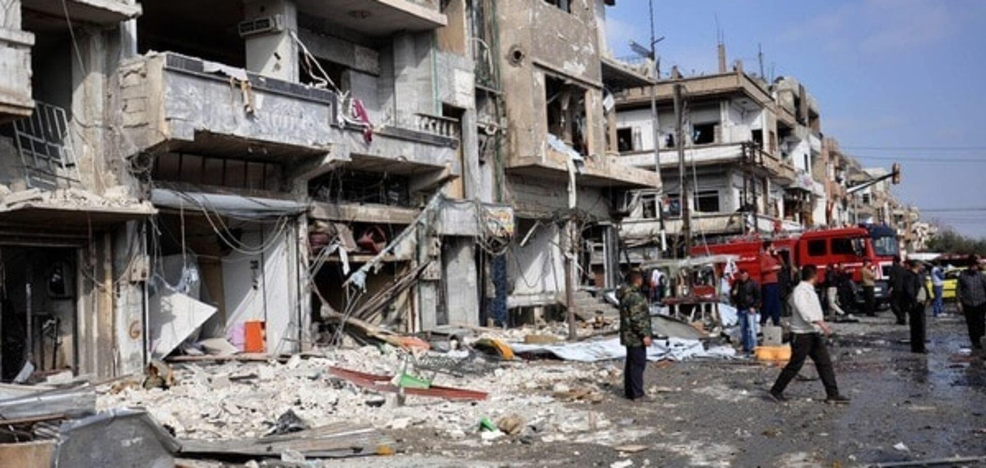В Сирии от двойного теракта в Хомсе погибли 46 человек: опубликованы фото