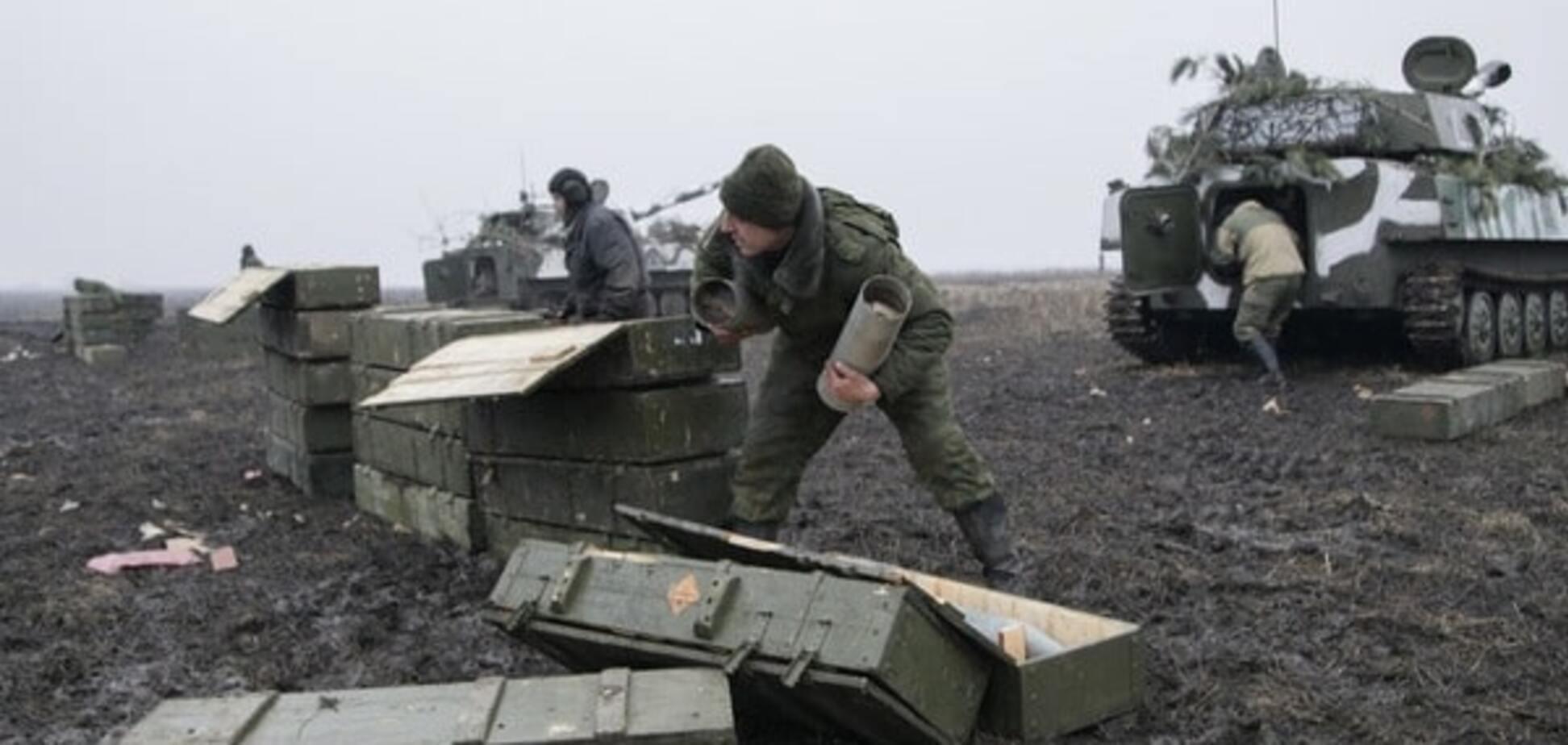 Разведка зафиксировала 'Грады' и танки у террористов в Донецке