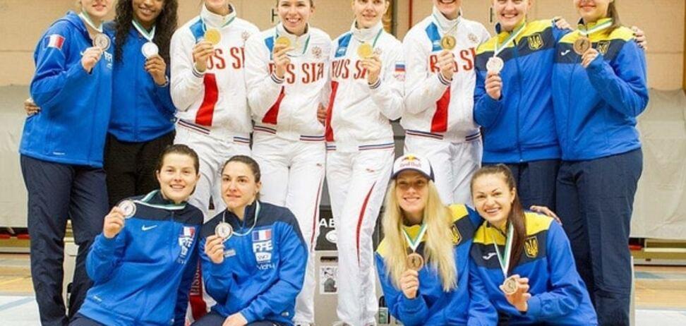 Сборная Украины выиграла медаль и Олимпийскую лицензию