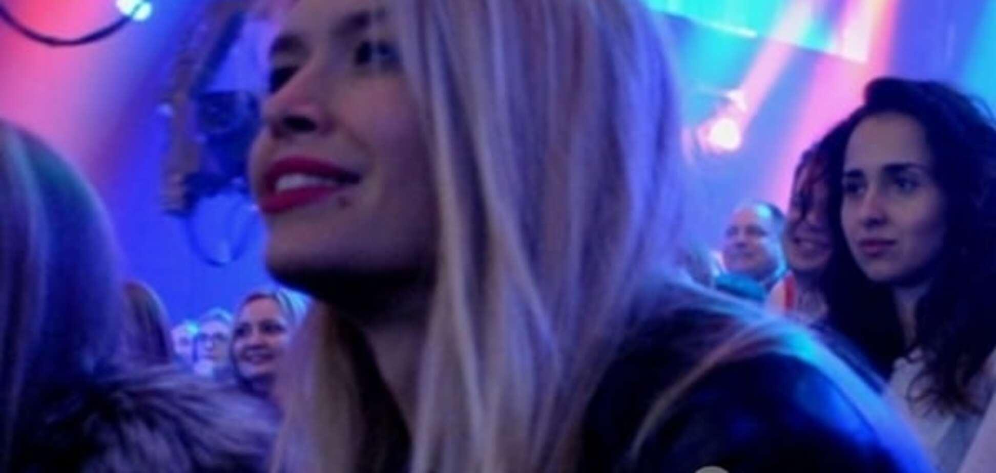 Брежнєва привела на 'Євробачення' доньку: опубліковані фото