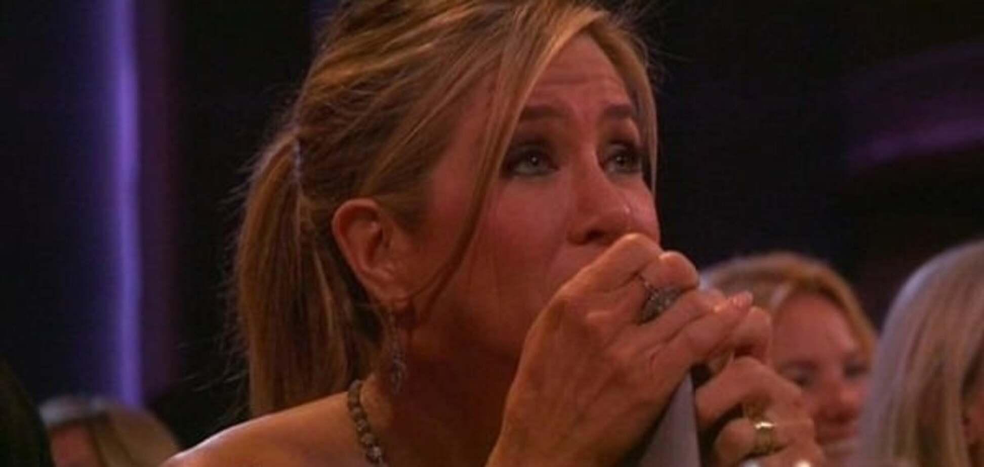 Дженнифер Энистон расплакалась на воссоединении актеров сериала 'Друзья'