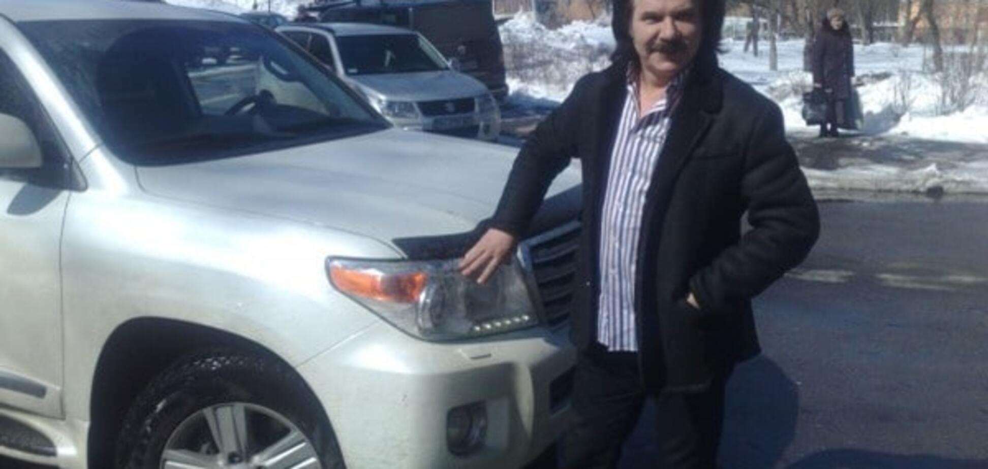 В Киеве обчистили автомобиль Павла Зиброва: эксклюзивные подробности происшествия