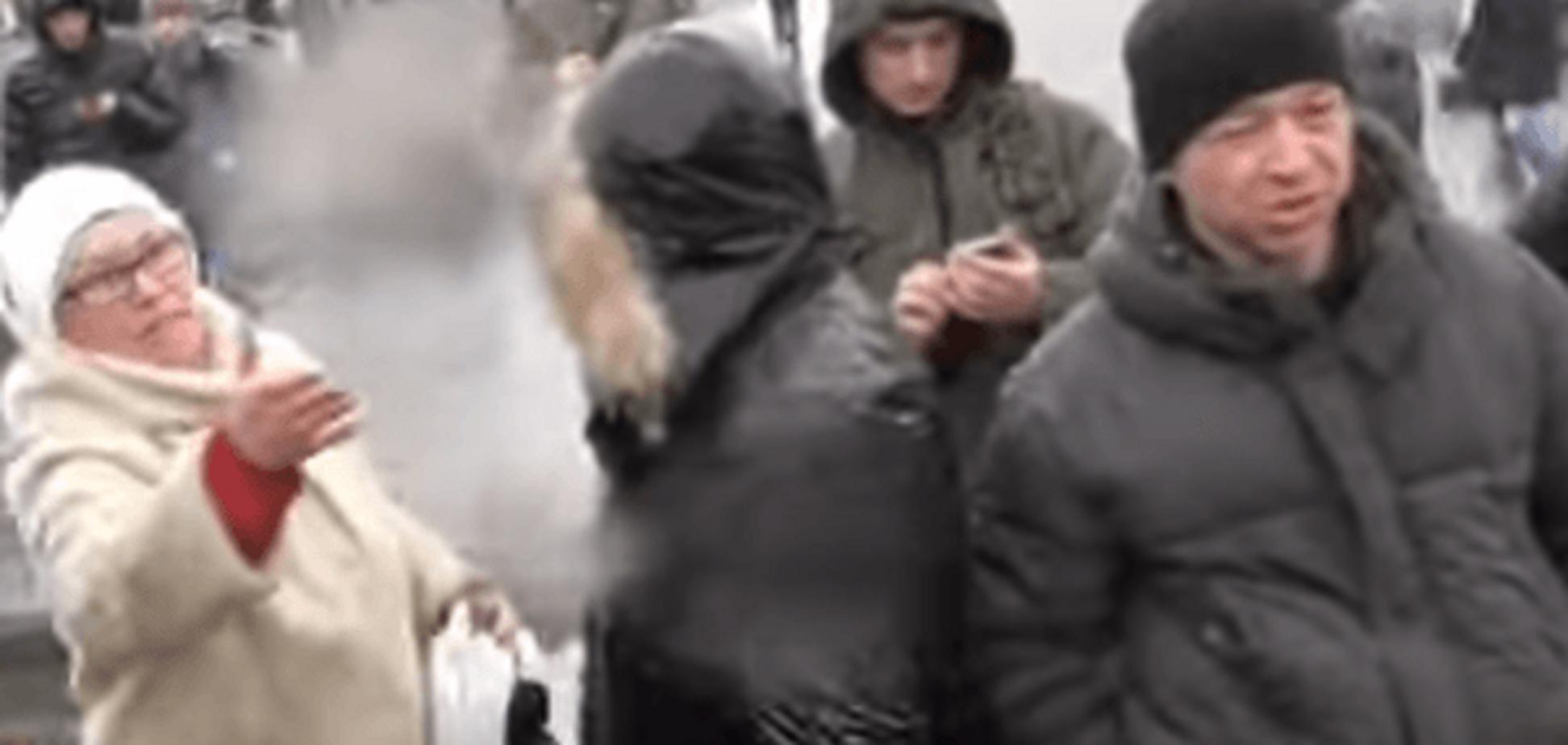 'На**я мене виганяєте?' Сепаратистка з Києва не захотіла їхати жити у Луганськ: відеофакт