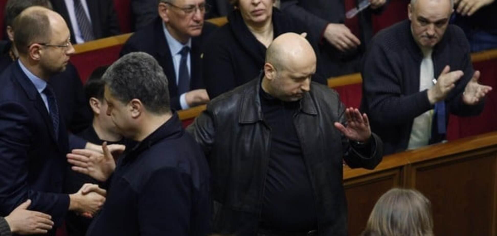 Смертний вирок: нардеп пояснив, чому Турчинов не сяде в крісло прем'єра