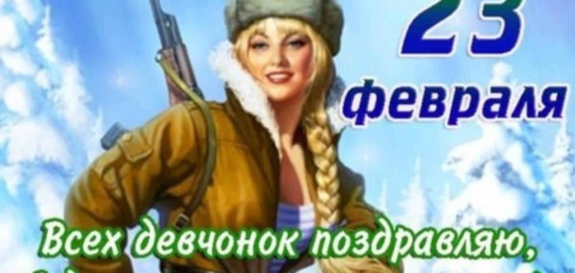 Відсвяткувала, танкістка! 23 лютого п'яна росіянка протаранила 17 авто: відеофакт