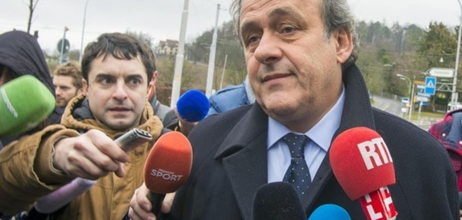 ФІФА пом'якшила покарання для Блаттера і Платіні