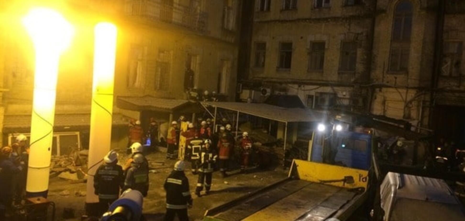 НП у Києві: з одним із потерпілих не вдалося встановити контакт