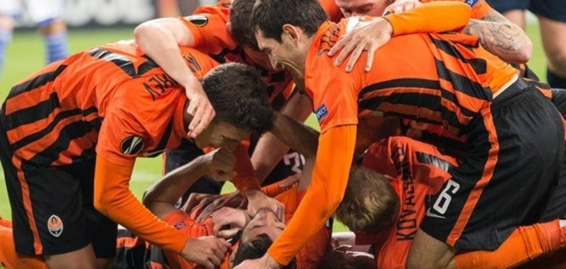 'Шахтер' обыграл 'Шальке' и вышел в 1/8 финала Лиги Европы