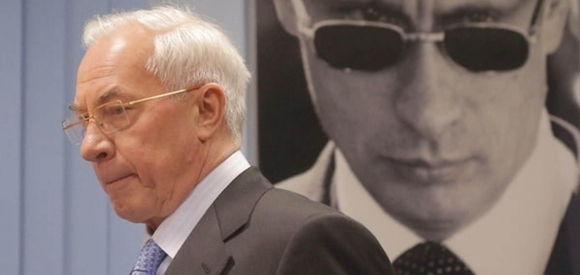 План ФСБ: нардеп объяснил, почему Азаров засобирался в Украину