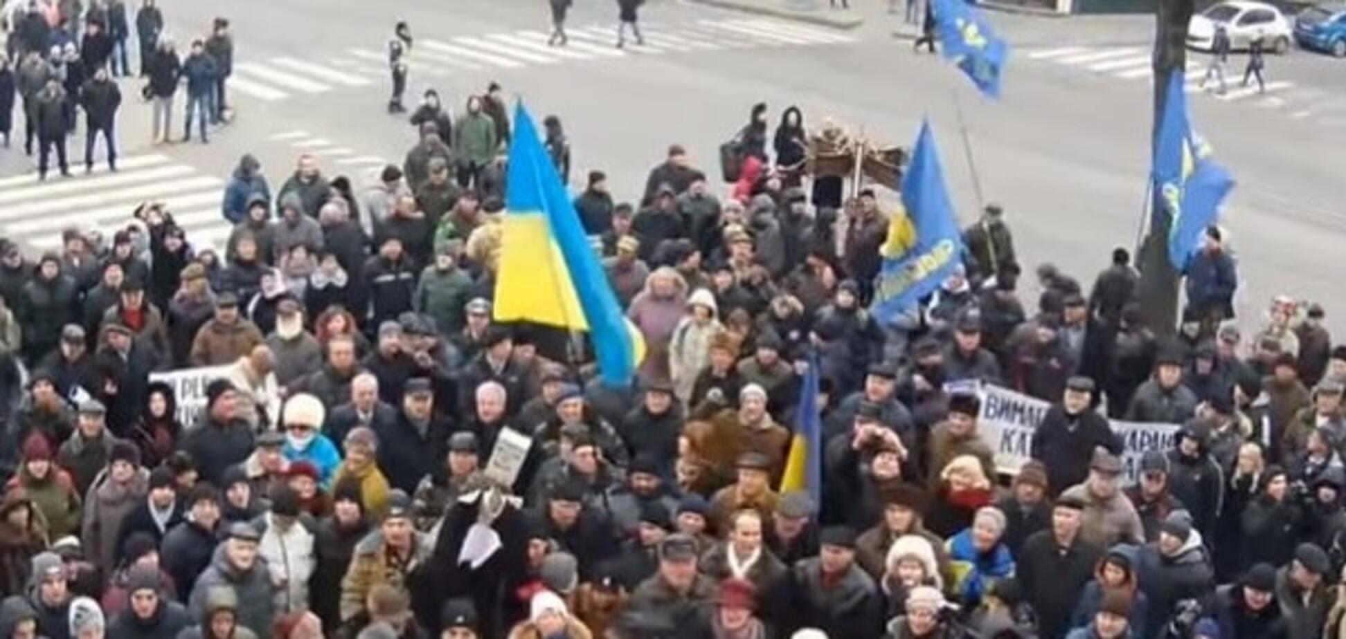 СМИ узнали об 'атаке' активистов на нового главу полиции Винницы