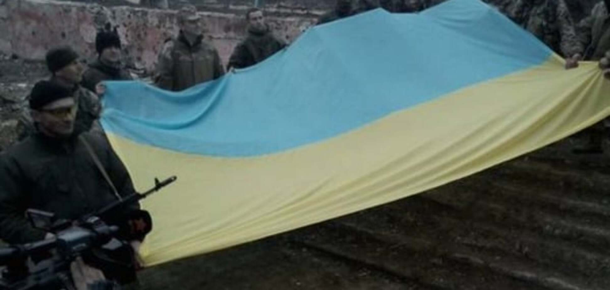 Опубликовано видео, как бойцы АТО возвращали Широкино
