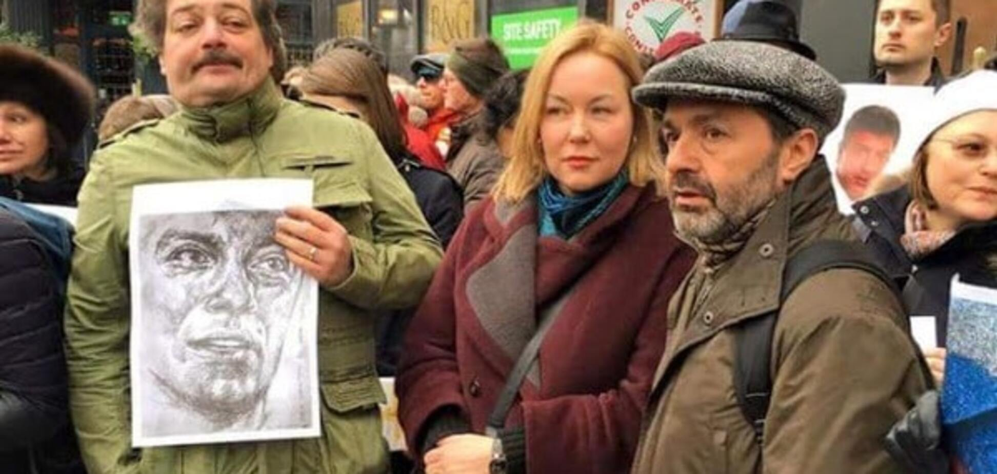 Год без Бориса. Акция памяти в Лондоне