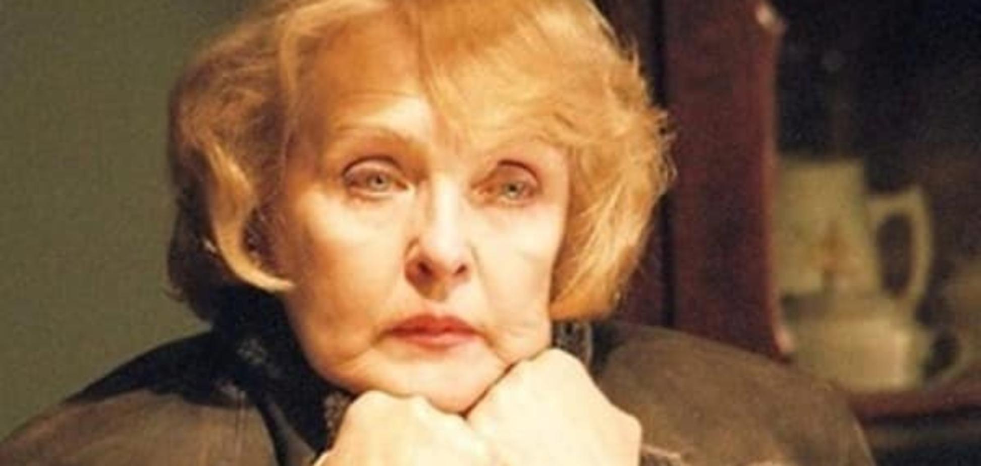 Ада Роговцева назвала Россию монстром: никакие деньги не заставят меня изменить позицию