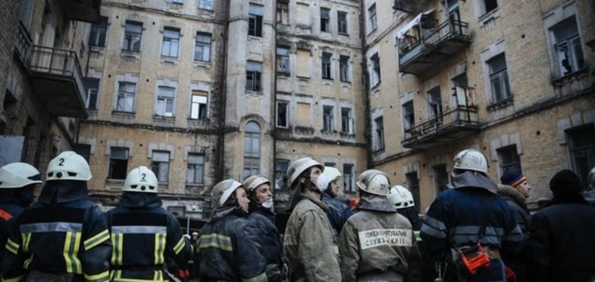 ЗМІ повідомили про нову небезпеку в будинку, що обвалився в Києві