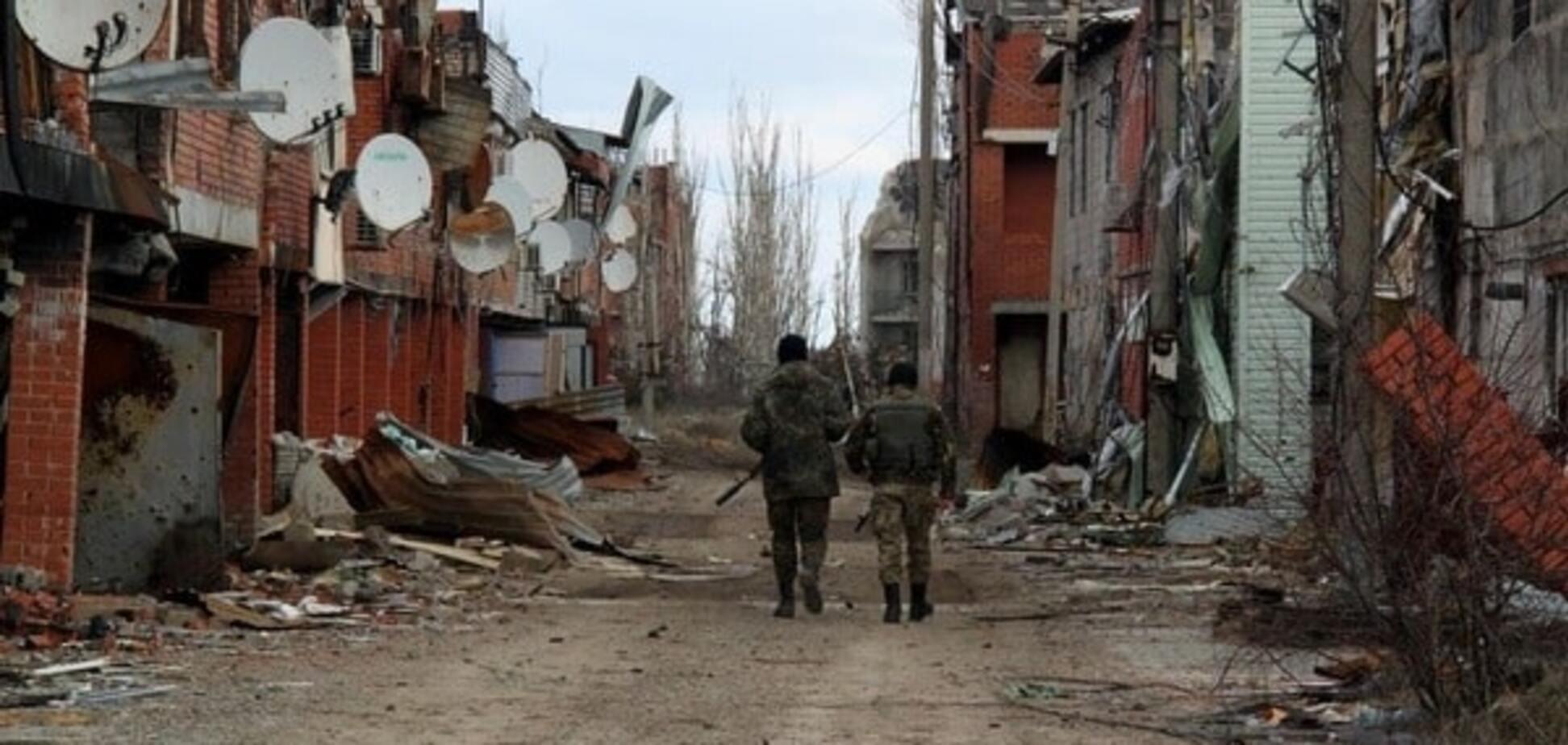 Постапокалипсис в Широкино: обнародованы фото оставленного террористами поселка