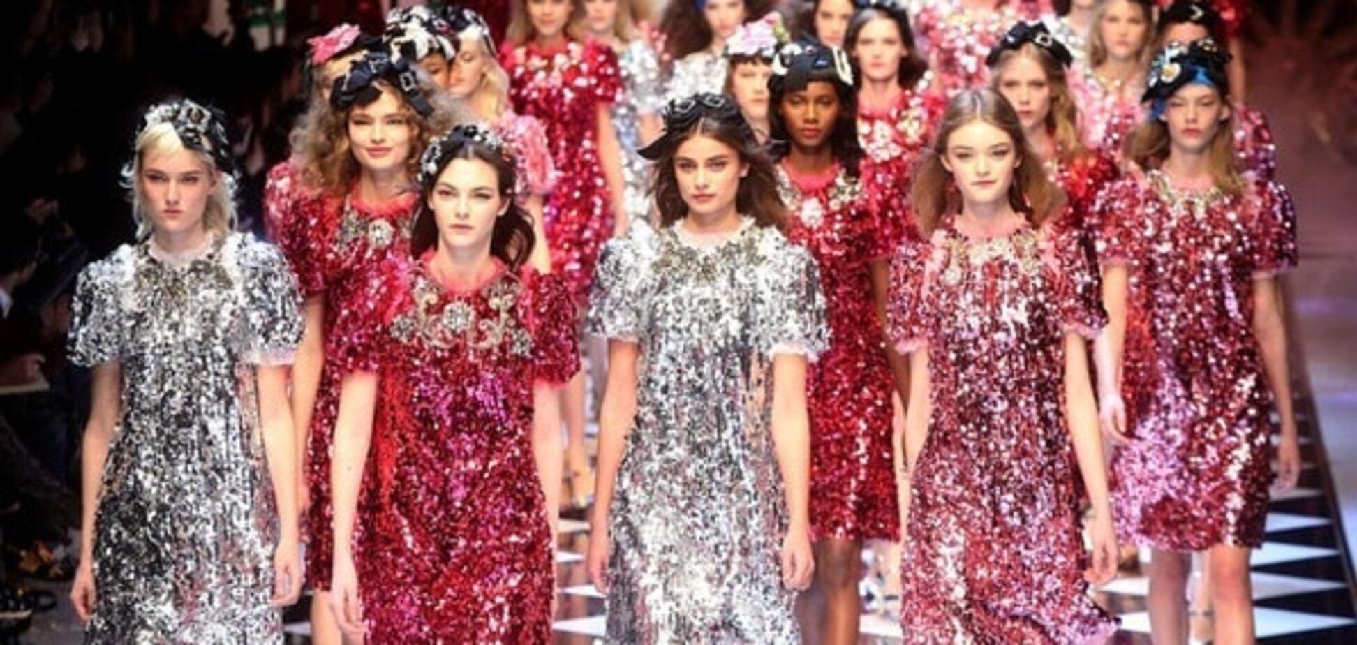 Фантастические цветы и сказочные принцессы: показ Dolce&Gabbana в Милане