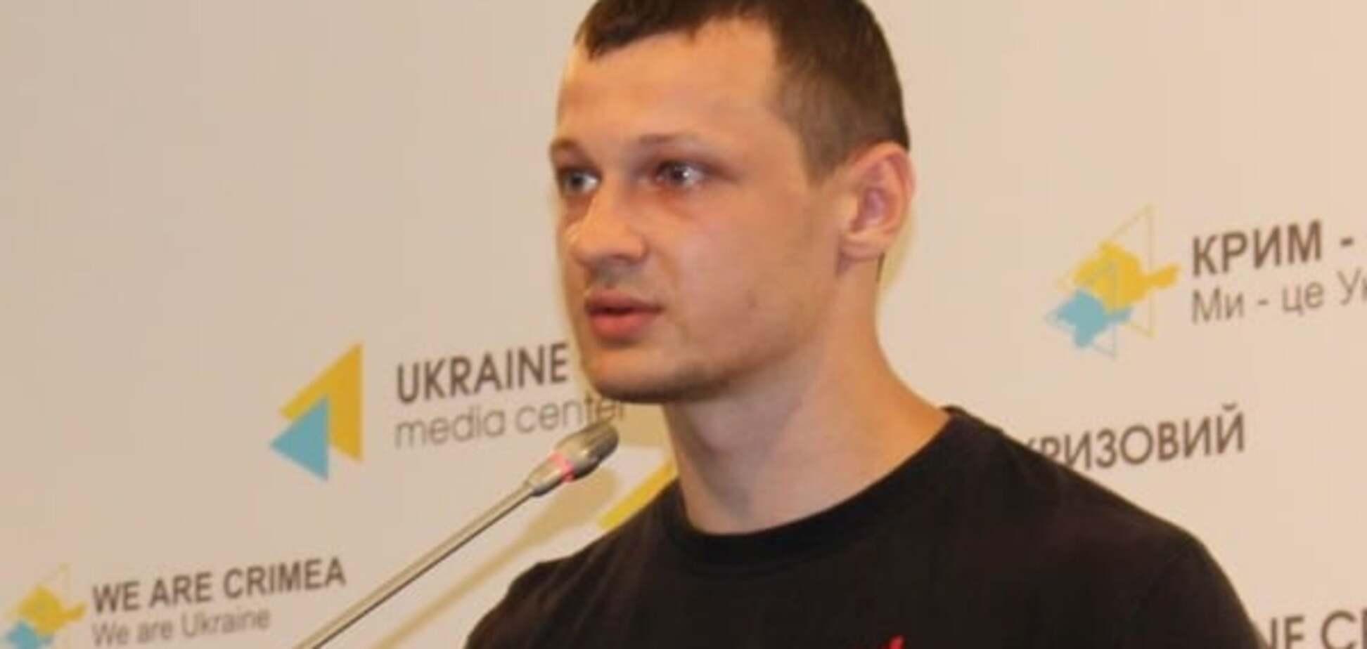Задержанный член 'Азова' Краснов работал на ФСБ и готовил теракты на Херсонщине - СБУ