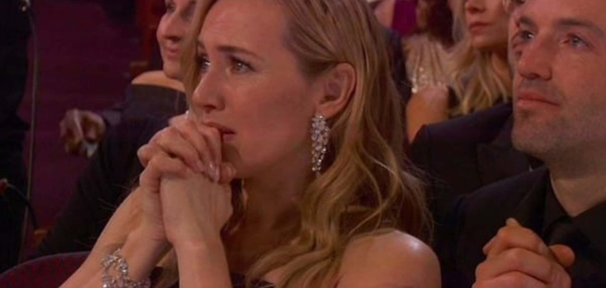 Кейт Уинслет расплакалась из-за победы ДиКаприо на 'Оскаре': опубликовано видео