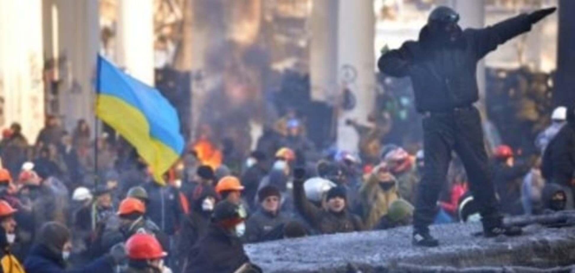 'Маски революції' без маски