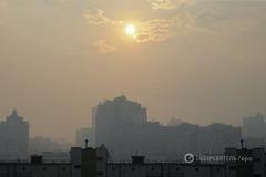 Дышите носом: где в Киеве самый грязный воздух