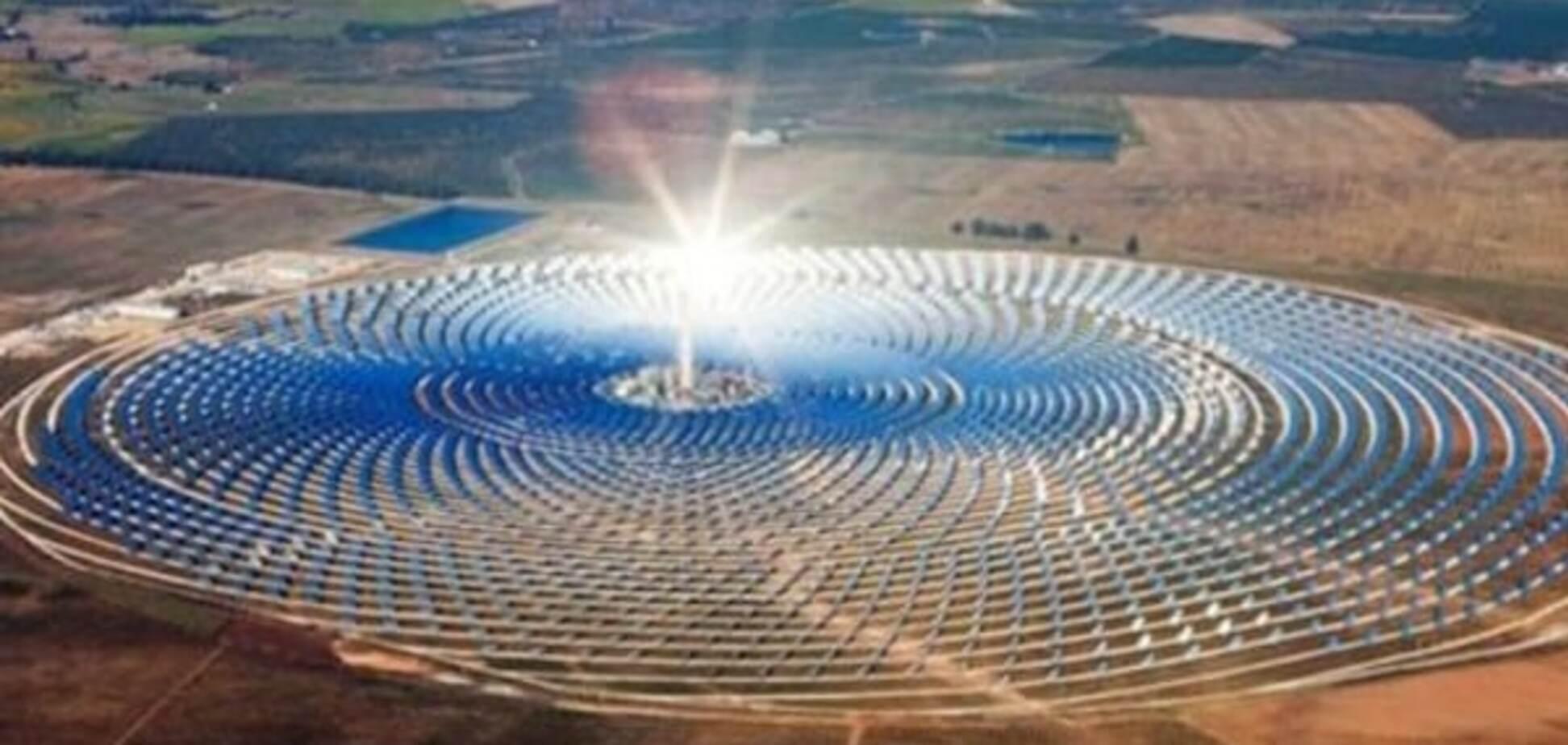У пустелі Сахара відкрита найбільша в світі сонячна станція