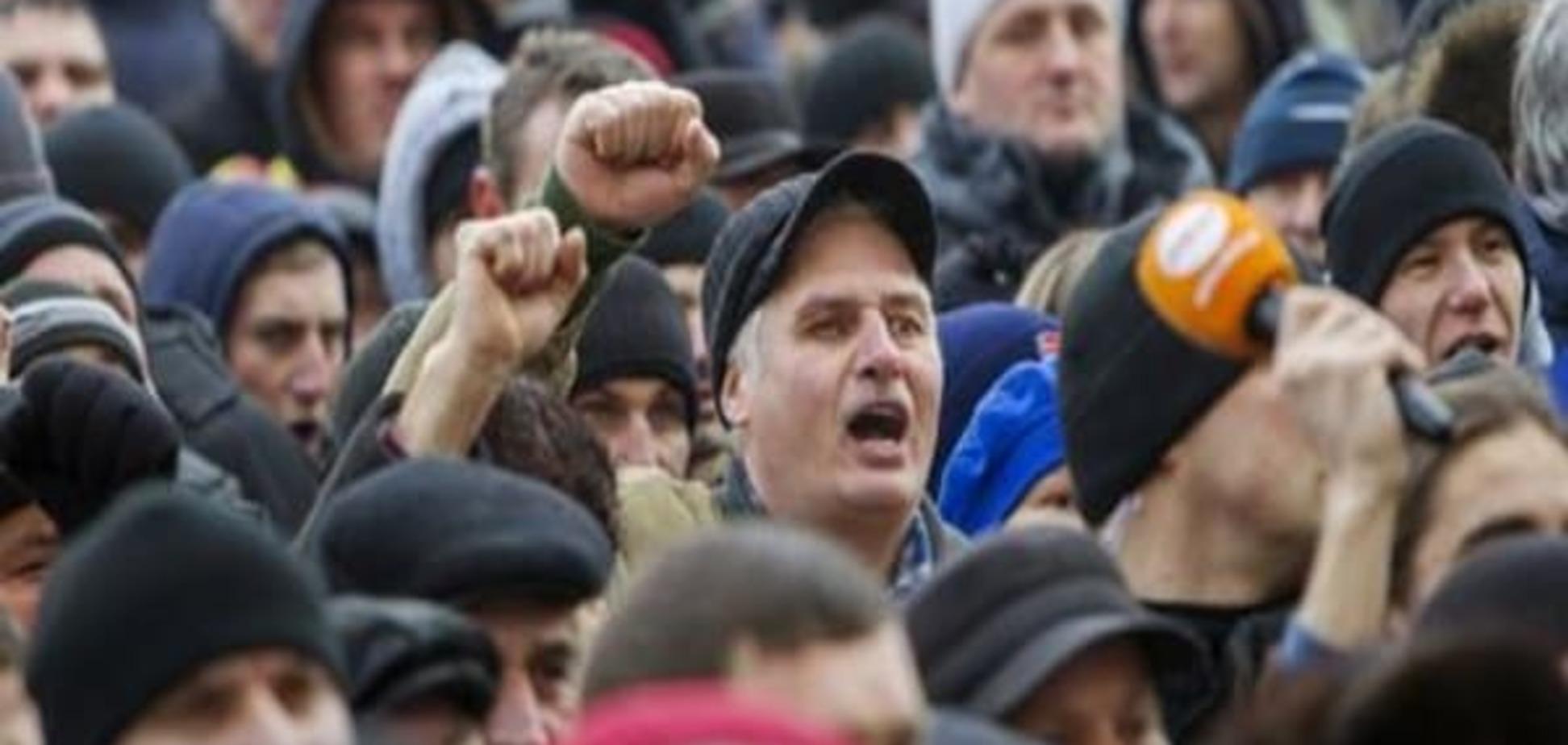 Протесты в Молдове: оппозиция дала властям месяц на раздумье