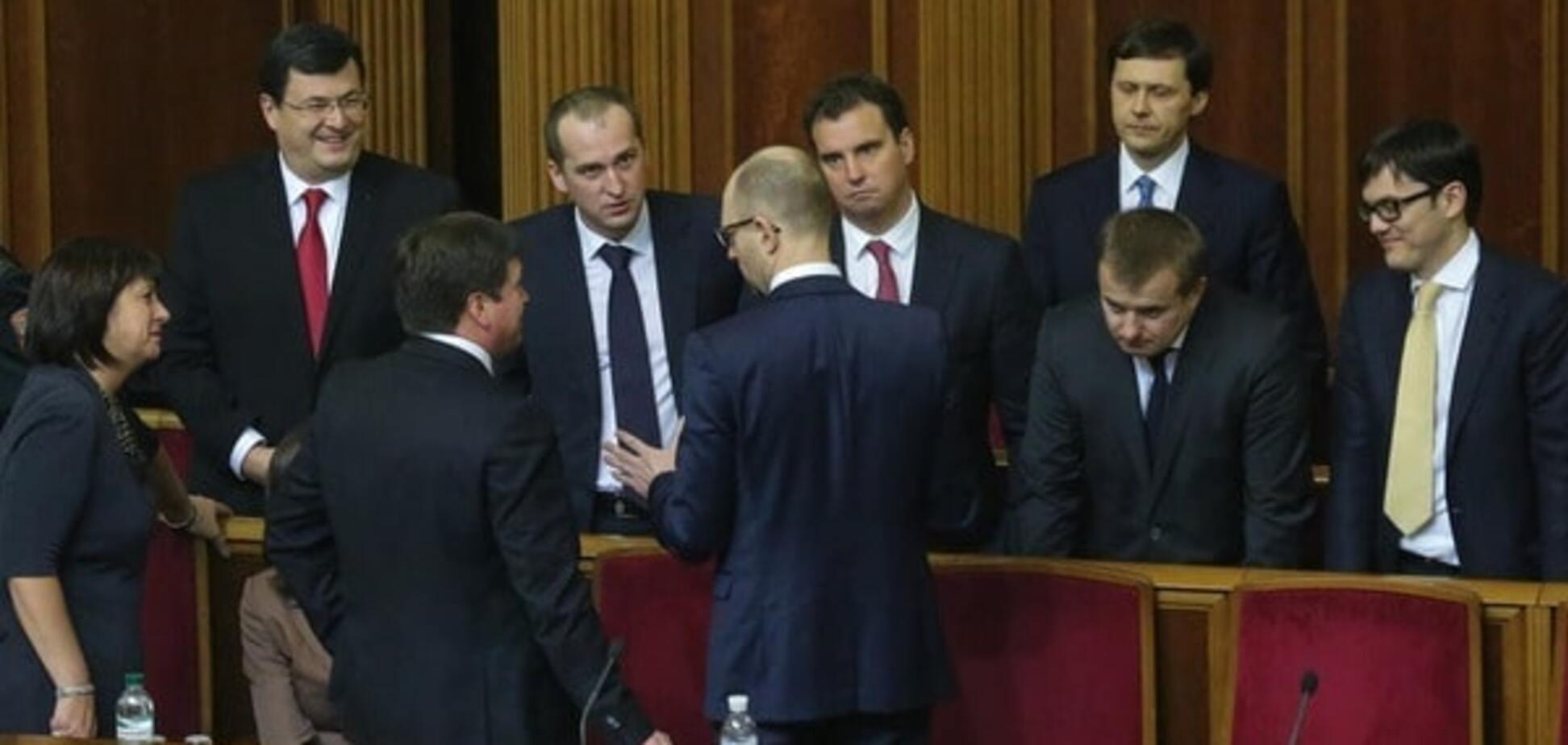 Рука премьера: Кирш объяснил отмену отставки четырех министров