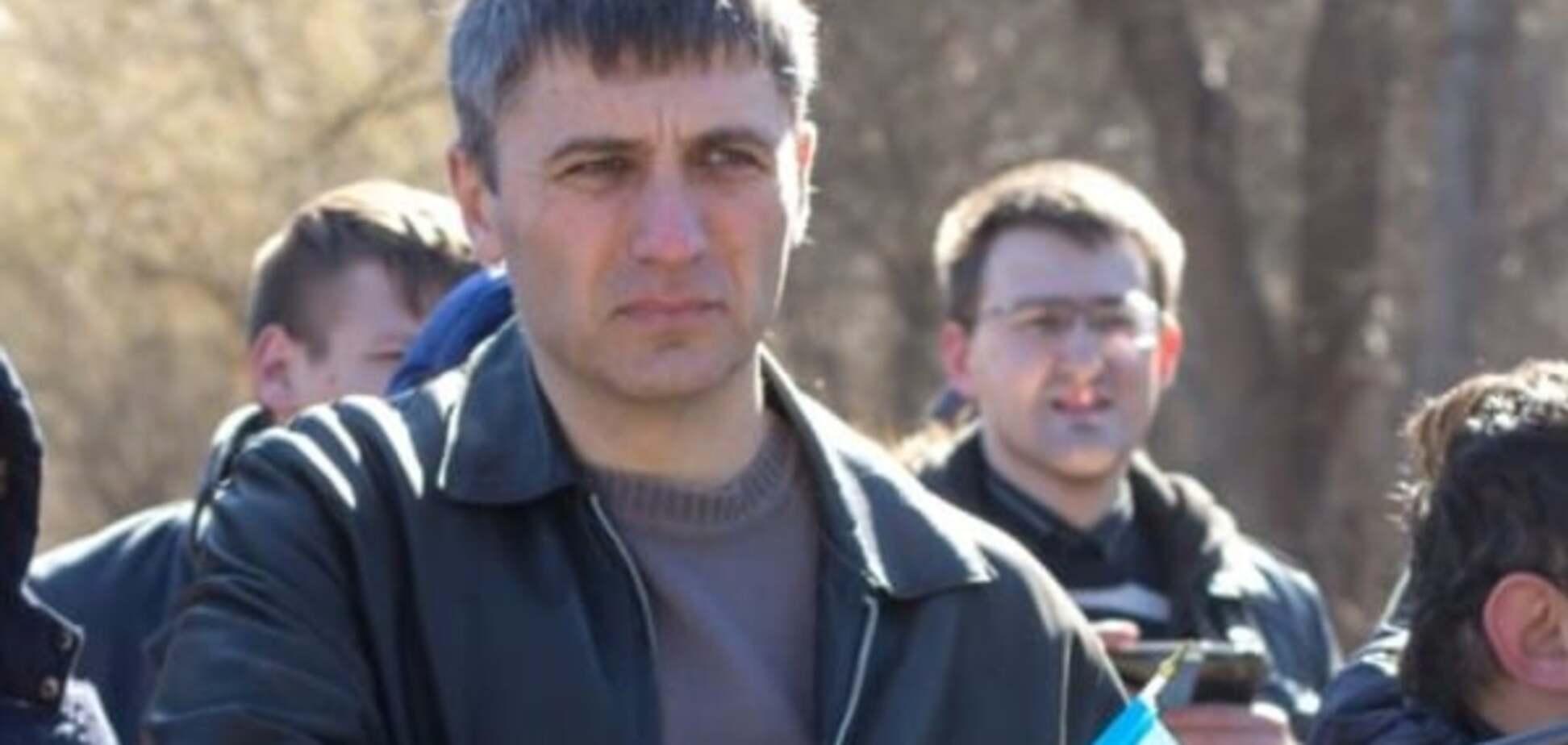 На беседе в ФСБ: на въезде в Крым задержали проукраинского активиста