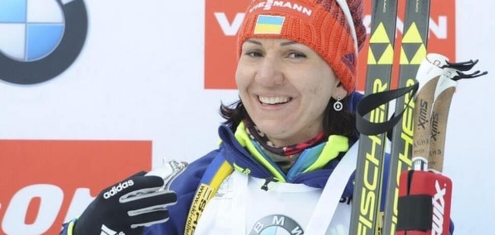 Украина выиграла 'золото' на Кубке мира по биатлону