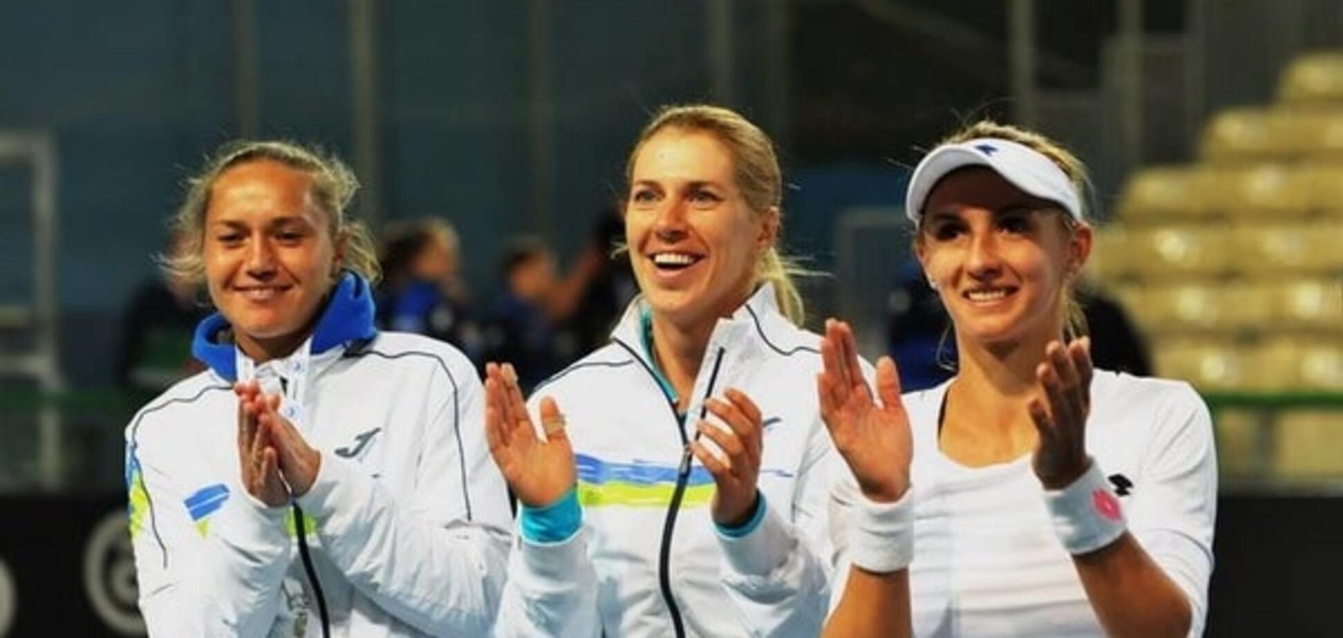 Українські тенісистки пробилися в плей-офф Другої Світової групи