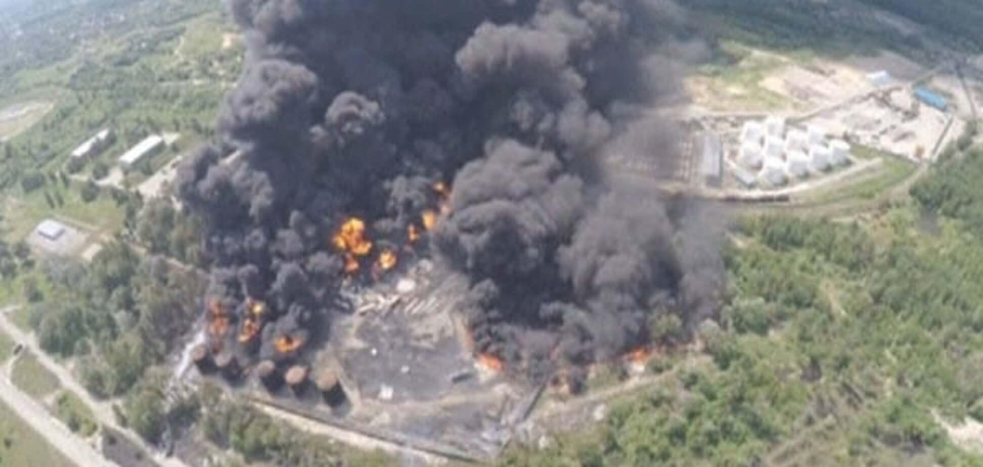 Вибух на нафтобазі під Києвом: мляве слідство та відсутні експертизи