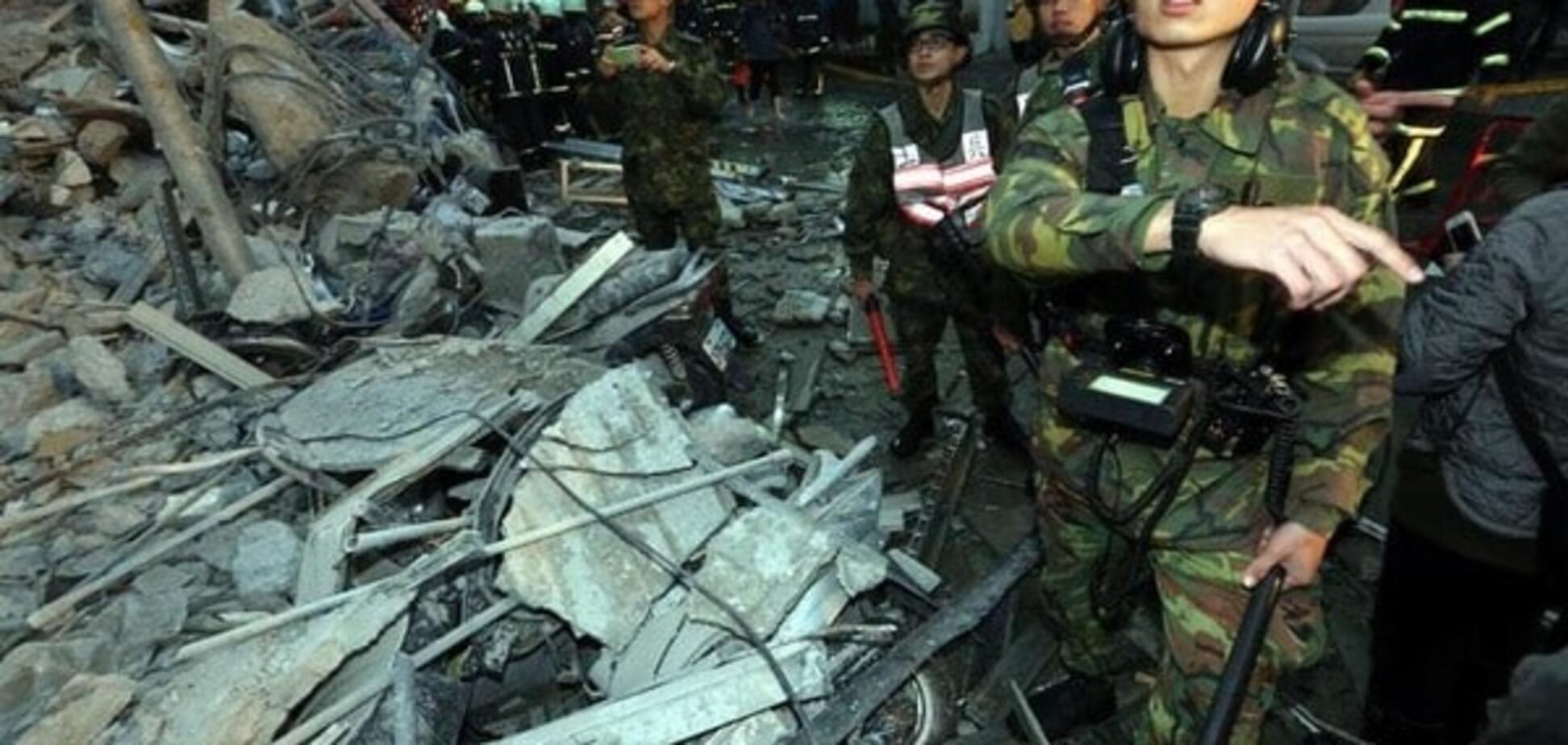 Землетрус на Тайвані: до порятунку тих, хто вижив залучили армію і Facebook