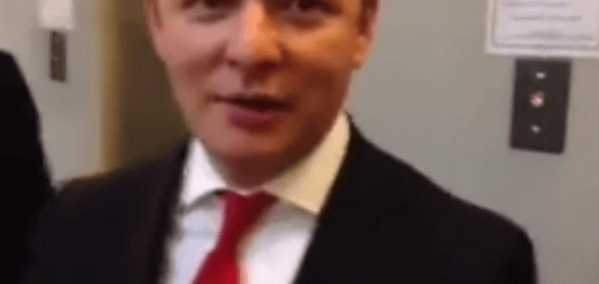 Гриша, доведеться тебе прикінчити! Ляшко показав, як 'вийшов на свободу': відео з ліфта Ради