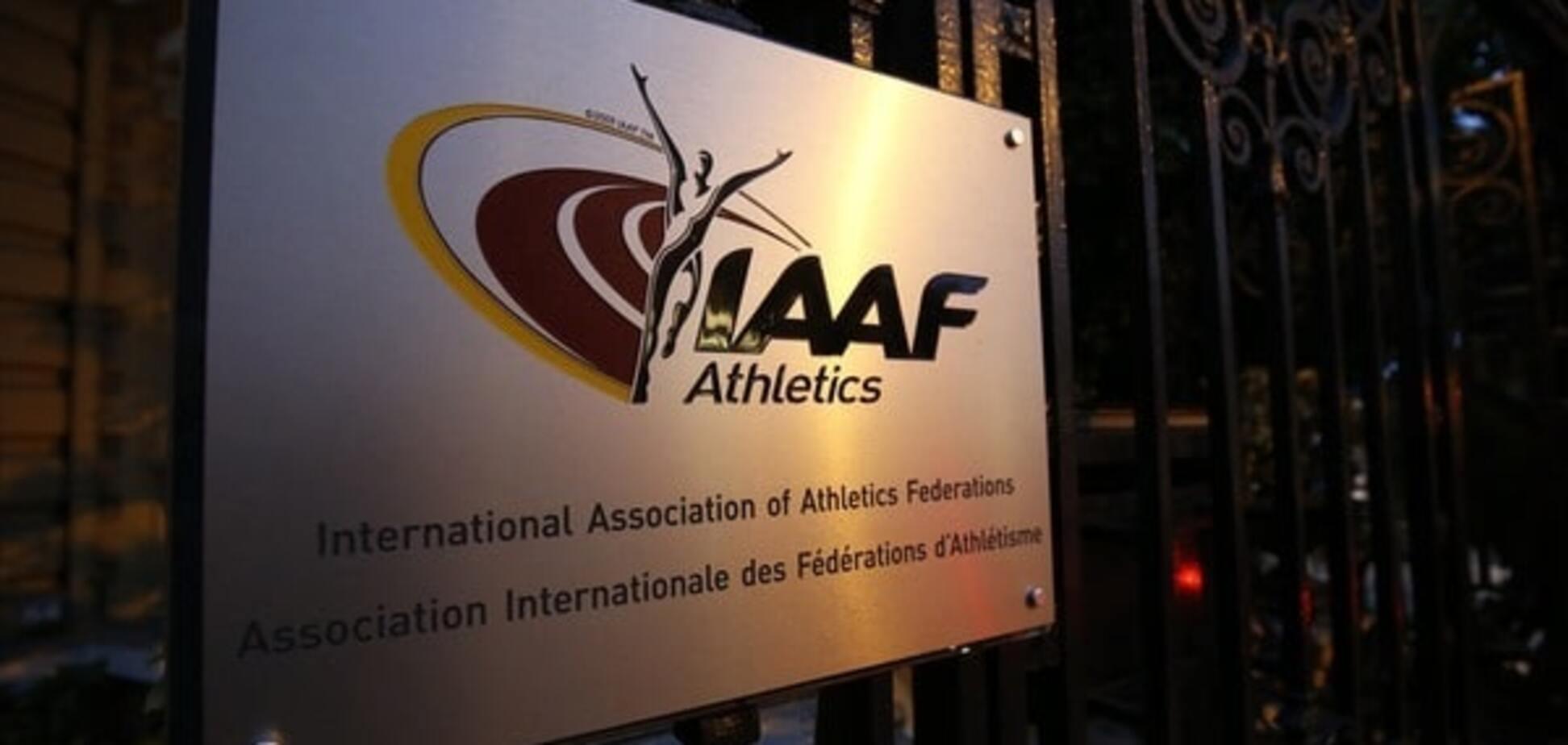 IAAF дискваліфікувала 4000 російських спортсменів
