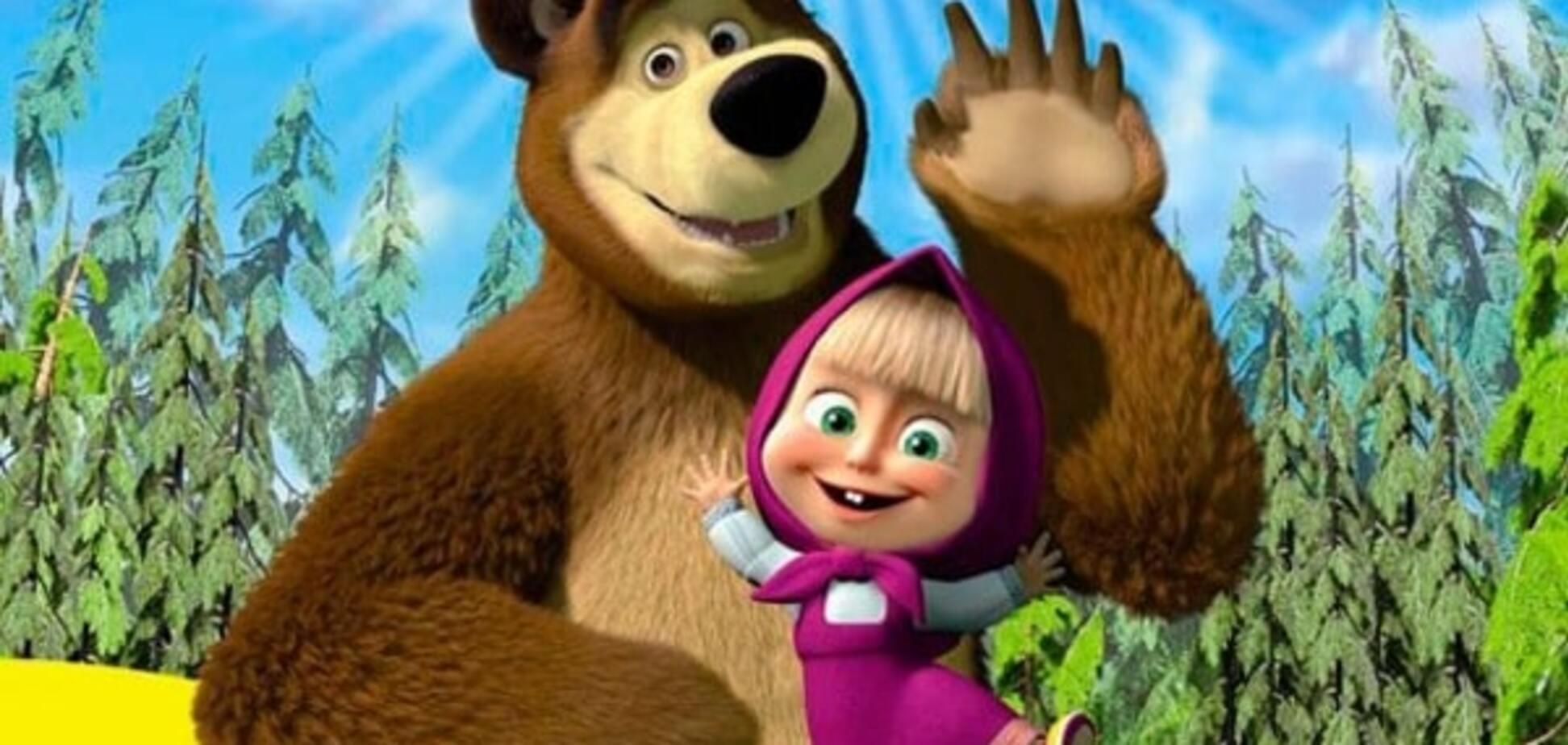 Новая серия мультфильма 'Маша и Медведь' стала хитом на Youtube